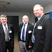 Oleg Kamberski, Head of Passenger Transport, IRU, Yves Mannaerts, IRU CTP President and Steven Salmon, Director of Policy Development, CPT
