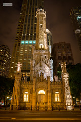 Chicago, IL (ililin1224) Tags: chicago night sony watertower michiganavenue slta77v 1650mmf28ssm