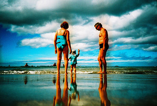 Lomo – mirror on the beach