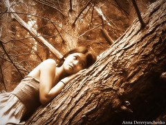 Shhh listen (anna dance) Tags: trees wild brown white black tree nature beauty true sepia forest hair asian climb other cool woods branches climbing bark fallen stuff poconos shhh listen bueatiful