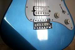Yamaha 1 (Sudev Bangah) Tags: blue guitar 110 yamaha pacifica cheap stratocaster pelham