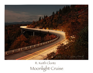 Moonlight Cruise (on the Blue Ridge Parkway) by R. Keith Clontz
