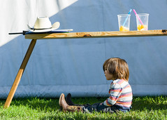 Young Texan Rest (-Dons) Tags: usa cup grass hat austin bench child tx cowboyhat cowboyboot fiestagardens austincelticfestival austincelticfestival2013