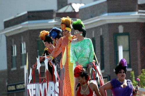 No drama queens at INDY PRIDE PARADE.