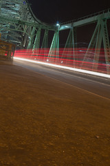 Zooming to Runcorn (greggp82) Tags: longexposure england unitedkingdom lighttrails widnes runcornbridge otherkeywords