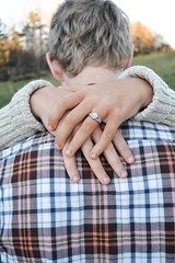 Bailey Engagement (Amelia Hall) Tags: winter boy guy love girl abbey rock georgia jack engagement ring sparkle bailey flannel bling