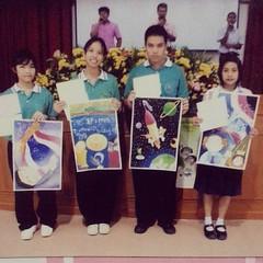 นานมาแล้ว เราเคยแช้ะภาพด้วยกันนะน้องเชส #ประกวดวาดภาพ #โรงเรียนสุราษฎร์ธานี