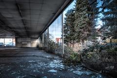 URBEX Bad Oeynhausen: Bamboo Garage - HDR (JugglerNorbi) Tags: urban broken glass decay dirty forgotten exploration destroyed hdr urbex