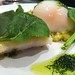 Smoked haddock and egg