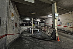 TIEFGARAGE (fotowerkstatt.luedenscheid) Tags: camera longexposure school bw color colour training germany dark underground subway deutschland keller mine flash gang technik tunnel exhibition technic workshop sw cave vault underworld blitz farbe cellar mystic kamera projekt dunkel vhs ausstellung schule volkshochschule untergrund hhle blankandwhite mystisch langzeitbelichtung ldenscheid werkstatt schulte grube schwarzweis unterwelt fotokurs unterwelten fotowerkstatt fotowerkstattldenscheid clausschulte