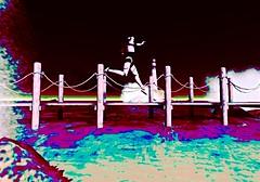Run Or Rust (LoneSolitarian) Tags: ocean life light boy shadow sea people man male art beach nature water beauty dark landscape photography robot pier photo 3d scenery masculine avatar gimp romance sl human secondlife virtual second serene macho sim saltwater firestorm windlight mandroid bajanorte