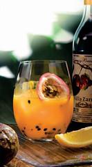 Cherry brandy sour! (Wine Dharma) Tags: lemon cocktails passionfruit barman cherrybrandy
