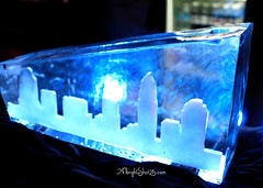Mullen Xmas Ice Sculpture