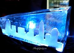 Mullen Xmas Ice Sculpture