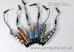 cane touch screen polymerclay sytlus carajane... (Photo: Cara Jane Polymer Clay on Flickr)