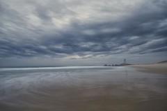 Distant (pominoz) Tags: sea beach clouds dawn waves redhead nsw redheadbeach