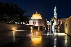 Sultan Qaboos Grand Mosque, Musqat, Oman (Frans.Sellies) Tags: night clear oman muscat    mascate      mascat  musqat img1549  masqat  umman       img1549armin