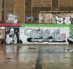 (deliciou$brains) Tags: street art amsterdam ndsm deliciousbrains
