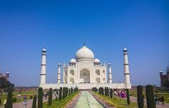 Taj Mahal (jubbing) Tags: trip winter friends india spring delhi taj mahal tajmahal agra tourist worldheritagesite worldheritage
