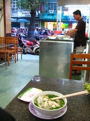 Communist Soup, Ho Chi Minh City (omnia2070) Tags: city shop soup restaurant war vietnam communist communism viet american chi noodles ho pho minh saigon marxism binh marxist cong