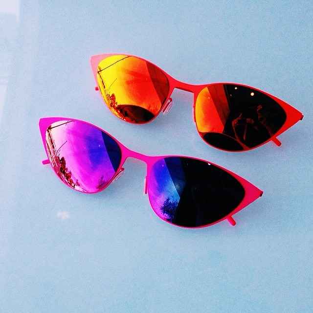 d5e16787ea Announcing the arrival of our new line  ItaliaIndependent. These  cateye   sunnies are. upload (Dan Deutsch Optical Outlook) ...