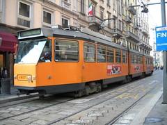 4907 - Via Mazzini (lanciaesagamma) Tags: milano tram 4900 atm trasporti jumbotram