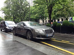 bentley continental gt speed (Supercar La Baule) Tags: paris four seasons may continental mai v gt avenue georges supercar bentley w12 2014 gtw12