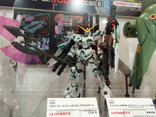 Gundam UC 的 HGUC 模型 -Full Armor Unicorn Gundam (Destroy Mode)