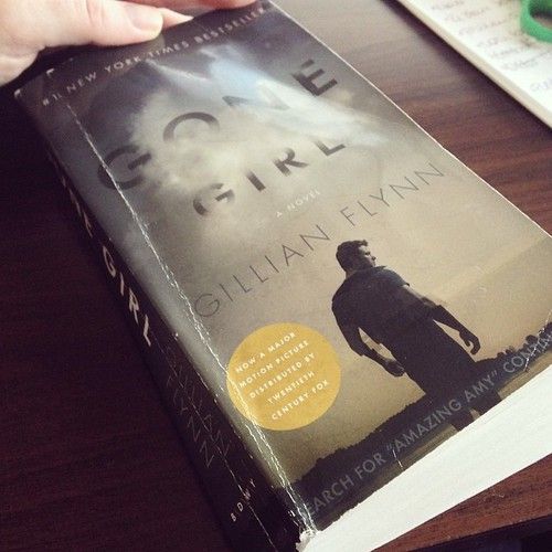 Gillian Flynn book fan photo