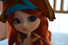 Nouvelle custo pour ma petite dernière (~Louna~) Tags: girl wig pullip poison fc poisongirl obitsu fullcustom fullcusto custocustom