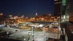 The HarborCenter outdoor Skating rink during the evening at Buffalo, NY. (Smith6612) Tags: ice sports buffalo outdoor skating recreation recreational 716 harborcenter