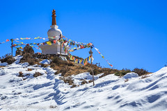 Stupa On Mountain Top, Bhraka-Ice Lake Trek, Annapurna Circuit, Nepal (Feng Wei Photography) Tags: travel nepal mountain snow color beautiful horizontal trek landscape asia outdoor stupa scenic buddhism remote annapurnacircuit annapurna himalayas tibetanbuddhism gandaki annapurnaconservationarea bhraka