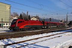 BB 1116 238-7 Railjet, Kufstein (michaelgoll777) Tags: taurus bb 1116 railjet