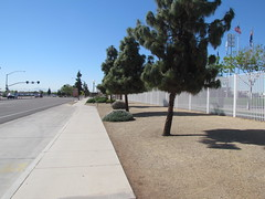 Sidewalk Outside of First Base at Surprise Stadium -- Surprise, AZ, March 09, 2016 (baseballoogie) Tags: arizona canon baseball stadium az powershot surprise ballpark springtraining royals kansascityroyals cactusleague baseballpark surprisestadium 030916 sx30is canonpowershotssx30is baseball16