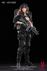 VERYCOOL TOYS VCF-2029 Black Female Shooter - 01 (Lord Dragon ) Tags: hot female toys actionfigure doll angelinajolie verycool onesixthscale 16scale 12inscale