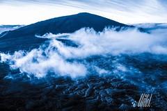 La braise (Unte L) Tags: panorama nature monochrome montagne lumix panasonic paysage lave volcan iledelareunion pitondelafournaise volcanique reunionisland ruption