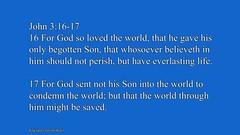 John 3:16 (God'sMercyandLove) Tags: god christian bible christianity scriptures