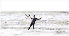 sans les mains ! (pixpeeper) Tags: sea kite kitesurfing plage letouquet ctedopale pixpeeper