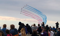 Red Arrows at Blackpool 2016 - 4 (Tony Worrall Foto) Tags: show county uk blue red england sky english plane fun town fly high tour place northwest aircraft air country north visit location tony lancashire resort formation airshow event coastal area arrows northern blackpool redarrows soar stunt lancs fylde dislay areo fyldecoast worrall welovethenorth areonutical 2016