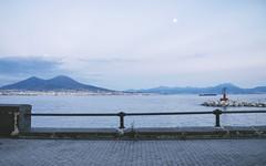 Napoli (Brunella Pastore) Tags: panorama tramonto napoli vesuvio lungomare viacaracciolo