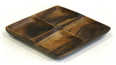 AC4CSQ (mountainwoods) Tags: wood mountain square four wooden woods 4 compartment tray appetizers section serving acacia hardwood mountainwoods ac4csq