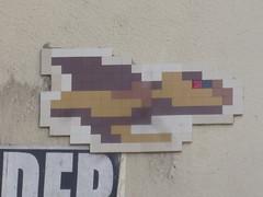 PA 0465 ractiv / Space Invader (Archi & Philou) Tags: streetart mosaic spaceinvader tiles pixelart mosaque carreau paris11