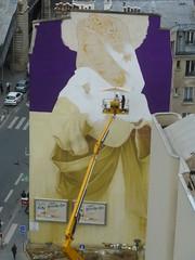 Inti : cration en cours (21 juin 2016) (Archi & Philou) Tags: streetart workinprogress wip inti paris13 paintedwall murpeint travailencours