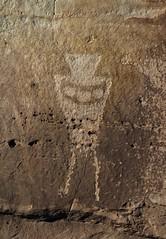 Petroglyph at Cañon Pintado (Ron Wolf) Tags: archaeology necklace colorado fremont nativeamerican petroglyph anthropology rockart blm anthropomorph anthromorph canyonpintado