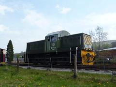 ELR BR Class 14 D9531 Ernest 07052016d (Rossendalian2013) Tags: train railway locomotive preserved ernest elr shunter ncb britishrailways eastlancashirerailway rawtenstall dieselhydrauliclocomotive class14 nationalcoalboard swindonworks d9531