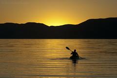 Sunrise Paddle at Bear Lake (Photography by Mike Schmidt) Tags: sunrise photography utah kayaking bearlake nikond200
