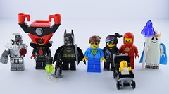 The Lego (ultimate) Movie (Alex THELEGOFAN) Tags: lego the ultimate movie minifigure emmet cool tag vitruvius benny baby batman lord business robot