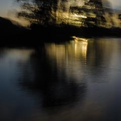 untitled (Kenneth Rowe) Tags: d7000 icm mle sunset woniwetlands intentionalcameramovement