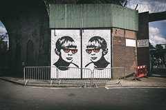 golden boy (james_drury) Tags: review stencil graff graffiti goldenboy birmingham digbeth street art cityofcolours 2016 festival canonef2470mmf28liiusm