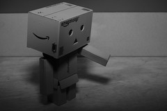 Don't leave me alone(`) (iamWing_) Tags: acros bw danbo danboard fuji fujifilm metz monochrome revoltech xpro2 xf35 amazon